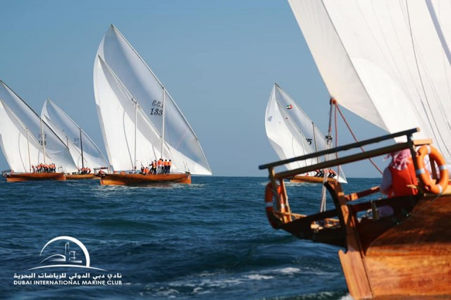 15.02.2020 60ft Dubai Traditional Dhow Sailing Race - Heat 1