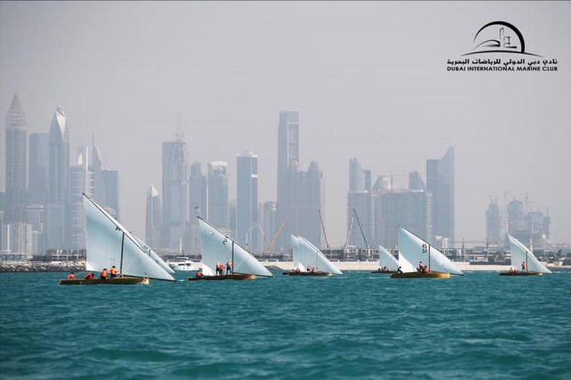 29.02.20 22ft Dubai Traditional Dhow Sailing Race