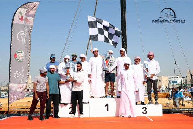 07.03.20 60ft Dubai Traditional Dhow Sailing Race - Heat 2