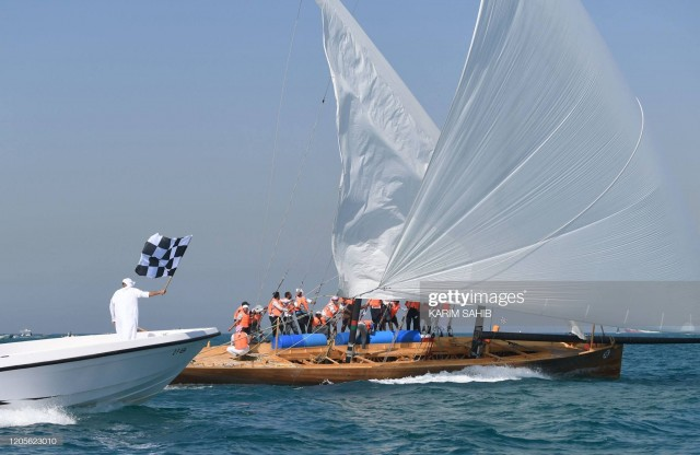 07.03.20 60ft Dubai Traditional Dhow Sailing Race - Heat 2 Photo by Karim Sahib