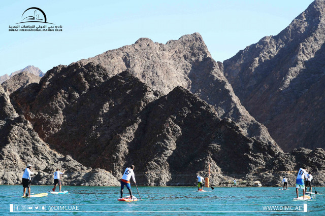 30.10.20 We Paddle for Hatta  - Stand Up Paddling Race