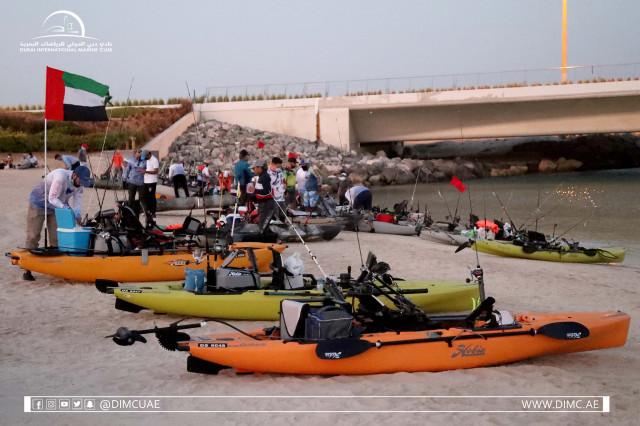 DUBAI KAYAK BOAT FISHING TOURNAMENT