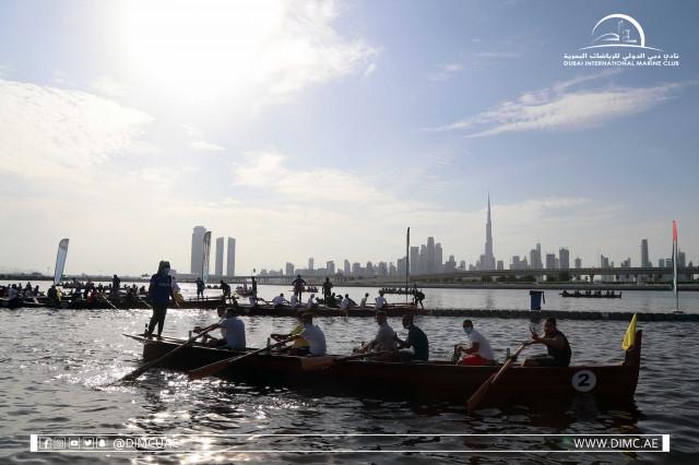Dubai Traditional Rowing Race  - 30ft (Heat 1)
