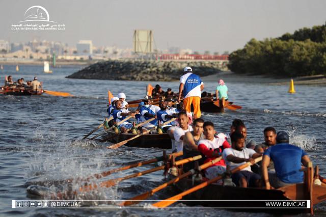 11.12.2020 Dubai Traditional Rowing Race  - Heat 2
