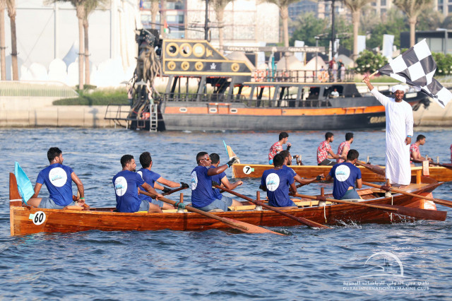 16.10.21 Dubai Traditional Rowing Race - Heat 1